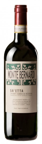 Monte Bernardi Sa'etta Chianti Classico Riserva DOCG