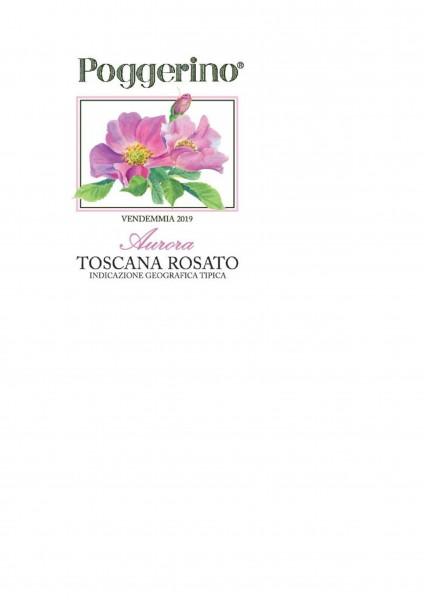 Fattoria Poggerino Aurora Rosato Toscana IGT